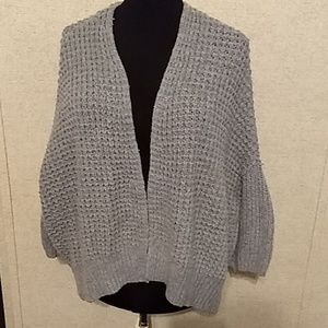 Free People Gray Cardigan